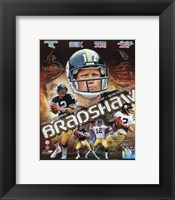 Framed Terry Bradshaw Portrait Plus