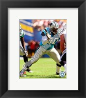 Framed Julius Peppers 2008 Action