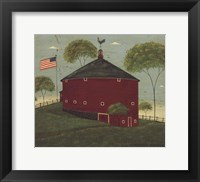 Framed Round Barn