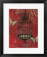 Framed Asian Bird Cage I