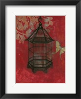 Framed Asian Bird Cage II