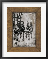Framed Antique Chandelier I