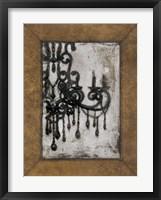 Framed Antique Chandelier I