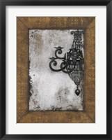 Framed Antique Chandelier II