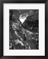 Framed Mountain Waterfall I