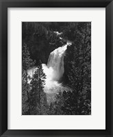 Framed Mountain Waterfall II