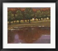 Framed Lake View II