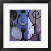 Cool Jazz II Framed Print