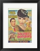 Framed Roman Holiday (french)