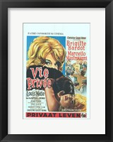 Framed Very Private Affair Vie Prive French