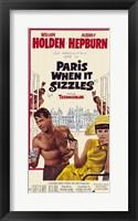 Framed Paris When It Sizzles