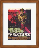 Framed Von Ryan's Express - red