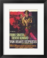 Framed Von Ryan's Express - red