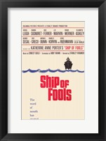 Framed Ship of Fools