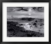 Winter Sunrise at Montauk Framed Print
