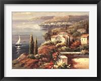 Framed Mediterranean Vista