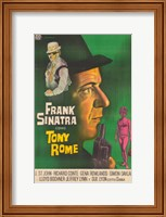 Framed Tony Rome