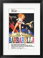 Framed Barbarella Bright Colors