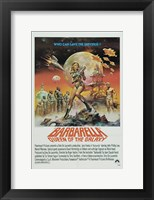 Framed Barbarella Queen of the Galaxy