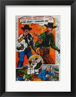 Framed Butch Cassidy and the Sundance Kid Comic
