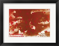 Framed Butch Cassidy and the Sundance Kid Blood Splatter