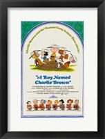 Framed Boy Named Charlie Brown