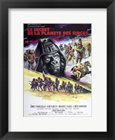 Framed Beneath the Planet of the Apes