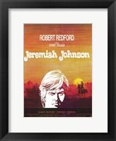 Framed Jeremiah Johnson - Desert