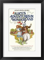 Framed Alice's Adventures in Wonderland