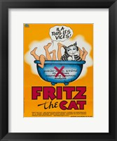 Framed Fritz the Cat