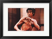 Framed Enter the Dragon Karate Action
