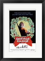 Framed Silent Night Evil Night