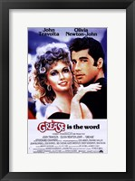 Framed Grease is the word