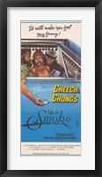 Framed Cheech and Chong's Up in Smoke Cheech Marin