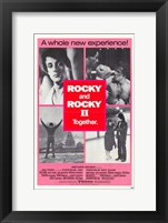 Framed Rocky 2 & Rocky Together