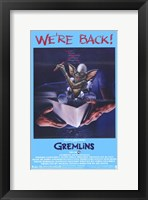 Framed Gremlins Film