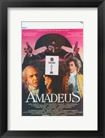 Framed Amadeus 8 Oscars