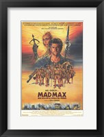 Framed Mad Max Beyond Thunderdome Mel Gibson