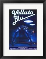 Framed Blue Velvet (Velluto Blu)
