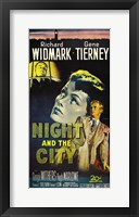 Framed Night and the City Gene Tierney