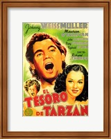 Framed Tarzan's Secret Treasure, c.1941 (Spanish) - style A