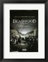 Framed Deadwood Series Returns