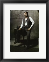 Framed Deadwood Ian McShane as AI Swearengen