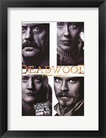 Framed Deadwood Four Squares