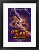 Framed Street Fighter II Movie