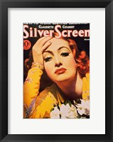 Framed Joan Crawford - Silver Screen