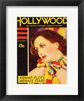 Framed Joan Crawford - Hollywood