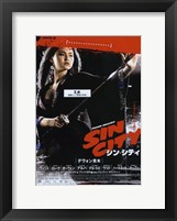 Framed Sin City Chinese Woman