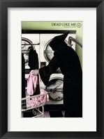 Dead Like Me Reaper Laundry Framed Print