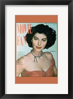 Framed Ava Gardner On Movie Fan